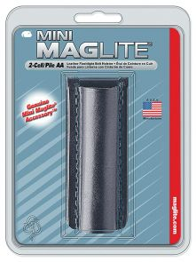 Maglite AA Mini Mag Leather Holster