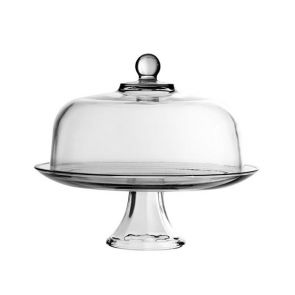 Anchor Hocking Presence 4 in 1 Cake Stand and Dome