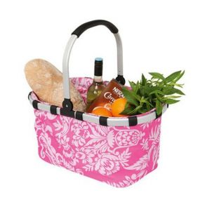 Avanti Foldable Carry Basket 23L Pink Fleur