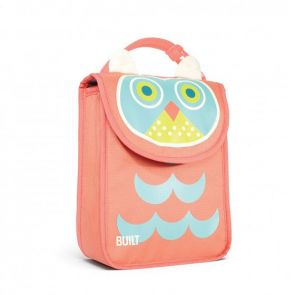 BUILT NY Big Apple Buddies Lunch Sack Astor Owl