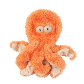 FuzzYard Flat Out Nasties - Sir Legs A Lot The Octopus Dog Toy