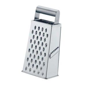 Gefu Cubo Four Way Stainless Steel Cheese Grater