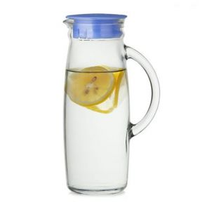 Glasslock Glass Water Jug With Lid 1L