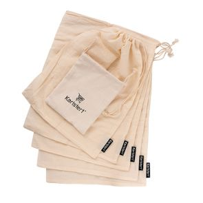 Karlstert Cotton Produce Bags - Set of 5