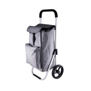 Karlstert Deluxe Shopping Trolley Graphite