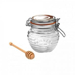 Kilner Honey Pot with Wooden Dipper 400ml
