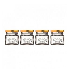 Kilner Set Of 4 Mini Jars
