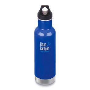 Klean Kanteen Insulated Classic Bottle with Loop Cap 592ml Coastal Waters
