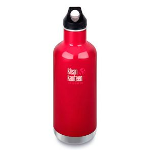 Klean Kanteen Insulated Classic Bottle with Loop Cap 946ml Beetroot