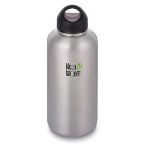 Klean Kanteen Wide Stainless Steel Bottle with Loop Cap 1900ml
