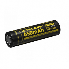 Nitecore IMR14500 3.7V Battery - 650mAh