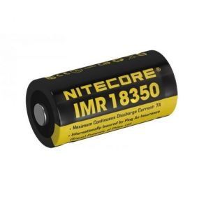 Nitecore IMR18350 3.7V Battery - 700mAh