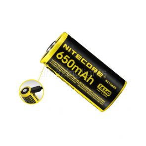 Nitecore NL1665R Battery - 650mAh