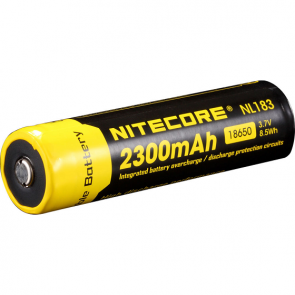 Nitecore NL1823 Li-ion 18650 Battery - 2300mAh