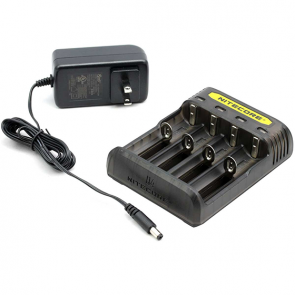 Nitecore Q4 Li-ion Battery Charger - Black