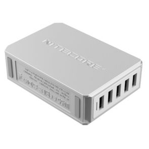 Nitecore UA55 5-Port USB Hub Adapter
