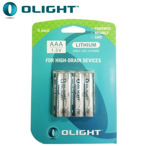 Olight AAA 1.5V Lithium Batteries 4 pack