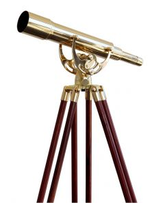Saxon 15-45x50 Brass Spotting Scope