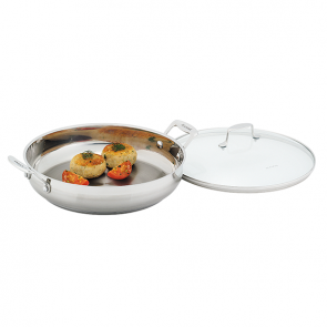 Scanpan Impact Chef's Pan with Lid 32cm