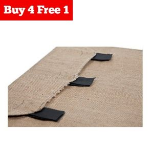 B4F1 Superior Pet Fitted Hessian Replacement Part - Cover - Small