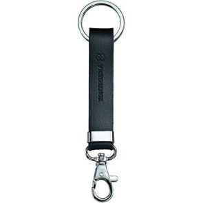 Victorinox Leather Knife Hanger With Snap Hook - Black